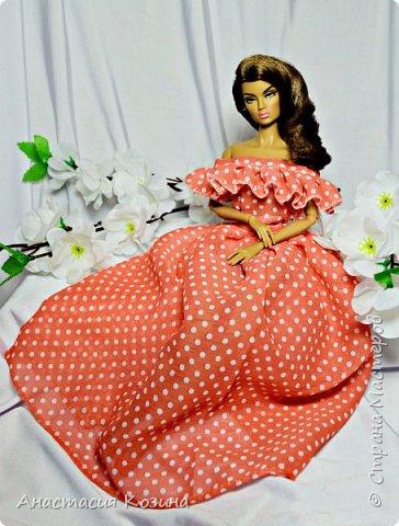 шифоновое платье  фото 1