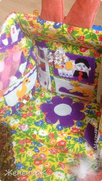 Домик-сумка для доченьки. Стороны-времена года, крыша-день/ночь. фото 4