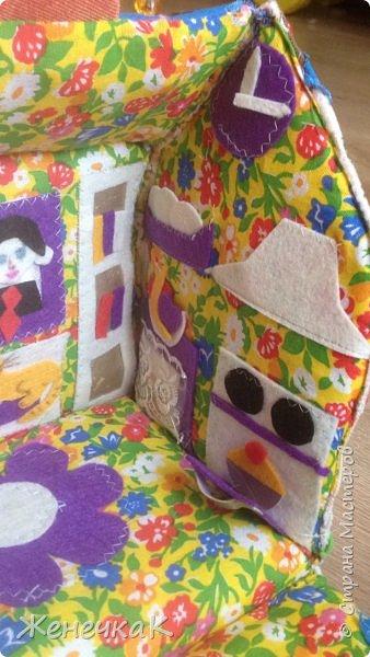 Домик-сумка для доченьки. Стороны-времена года, крыша-день/ночь. фото 5