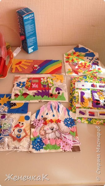 Домик-сумка для доченьки. Стороны-времена года, крыша-день/ночь. фото 8