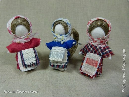 Кукла на счастье фото 13