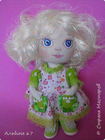 Знакомьтесь, это Блонди. Рост 16 сантиметров, стоит, сидит, ножки и ручки двигаются, одежда съемная фото 1