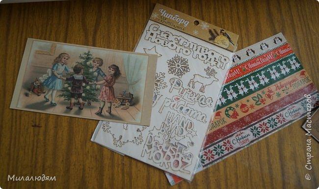 Всем здравствуйте! Этот пост продолжение этого http://stranamasterov.ru/node/1100664 Коричневые коробочки были с вырубкой, а беленькие с открыточками. Собирала сразу 4 посылочки и даже не знаю кому из девчат какая коробочка и открыточка достались. фото 31