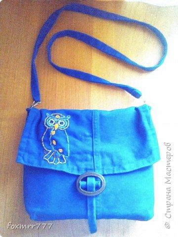 сумочка с совой