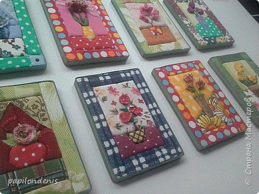 Добрый день. Вот и я со вторым этапом совместника. Кинусайга очень понравилась. Карточки получились такие легкие и уютные, что приятно взять в руки. Надеюсь, мои скромные цветочки понравятся участникам совместника.  фото 2