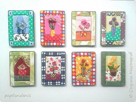 Добрый день. Вот и я со вторым этапом совместника. Кинусайга очень понравилась. Карточки получились такие легкие и уютные, что приятно взять в руки. Надеюсь, мои скромные цветочки понравятся участникам совместника.  фото 1