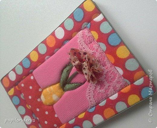 Добрый день. Вот и я со вторым этапом совместника. Кинусайга очень понравилась. Карточки получились такие легкие и уютные, что приятно взять в руки. Надеюсь, мои скромные цветочки понравятся участникам совместника.  фото 8
