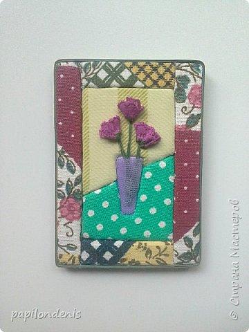 Добрый день. Вот и я со вторым этапом совместника. Кинусайга очень понравилась. Карточки получились такие легкие и уютные, что приятно взять в руки. Надеюсь, мои скромные цветочки понравятся участникам совместника.  фото 11