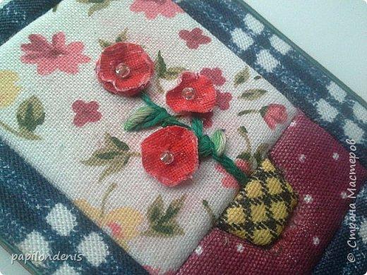 Добрый день. Вот и я со вторым этапом совместника. Кинусайга очень понравилась. Карточки получились такие легкие и уютные, что приятно взять в руки. Надеюсь, мои скромные цветочки понравятся участникам совместника.  фото 16