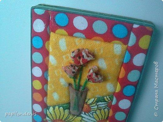Добрый день. Вот и я со вторым этапом совместника. Кинусайга очень понравилась. Карточки получились такие легкие и уютные, что приятно взять в руки. Надеюсь, мои скромные цветочки понравятся участникам совместника.  фото 18