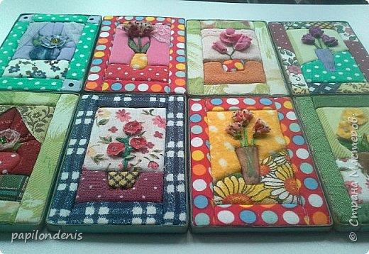 Добрый день. Вот и я со вторым этапом совместника. Кинусайга очень понравилась. Карточки получились такие легкие и уютные, что приятно взять в руки. Надеюсь, мои скромные цветочки понравятся участникам совместника.  фото 4