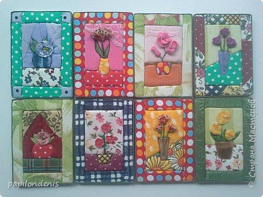 Добрый день. Вот и я со вторым этапом совместника. Кинусайга очень понравилась. Карточки получились такие легкие и уютные, что приятно взять в руки. Надеюсь, мои скромные цветочки понравятся участникам совместника.  фото 21