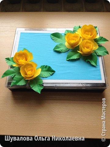 Цветочная шкатулочка  для мелочей и не только фото 1