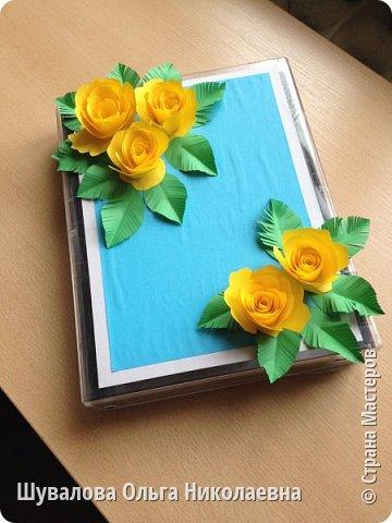 Цветочная шкатулочка  для мелочей и не только фото 2