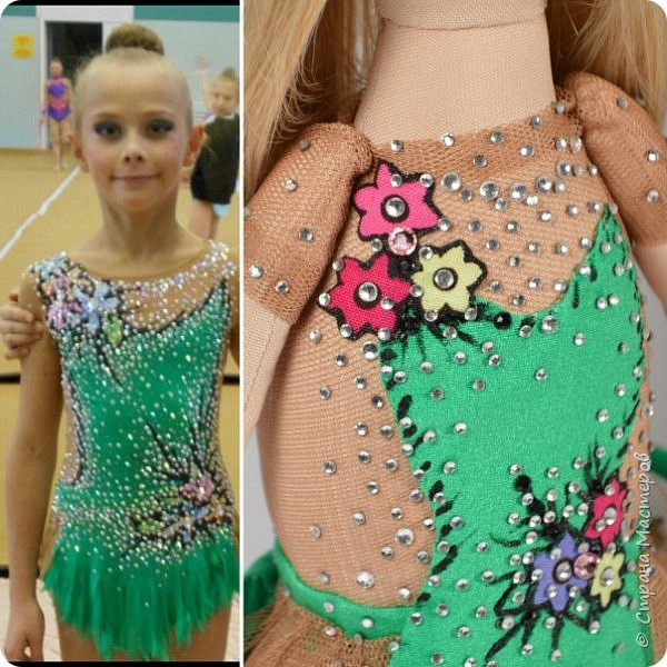Кукла гимнастка фото 5
