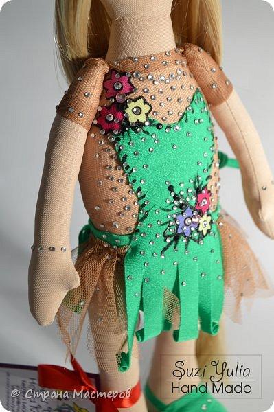 Кукла гимнастка фото 2