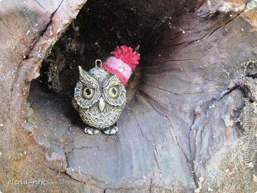 Загадка: Сердитый недотрога Живет в глуши лесной, Иголок очень много, А нитки - ни одной.    Ничего нового,  решила повторить прошлогоднего ёжика. фото 5