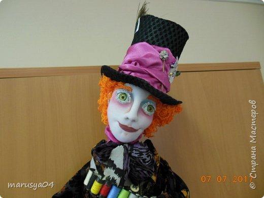 Ну вот - своя интерпретация Шляпника из Алисы в стране чудес. Не Джонни Деп конечно... но попыталась как могла... фото 5
