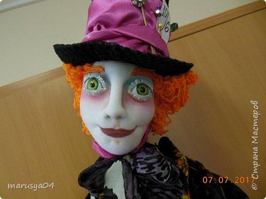Ну вот - своя интерпретация Шляпника из Алисы в стране чудес. Не Джонни Деп конечно... но попыталась как могла... фото 10