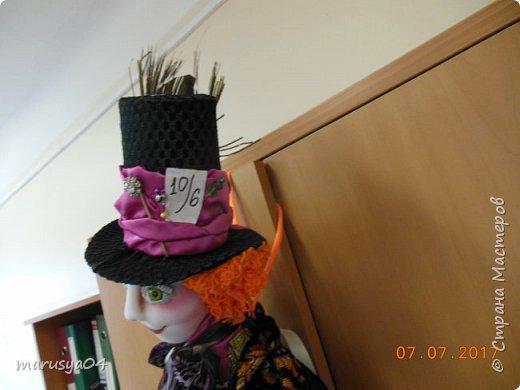 Ну вот - своя интерпретация Шляпника из Алисы в стране чудес. Не Джонни Деп конечно... но попыталась как могла... фото 9