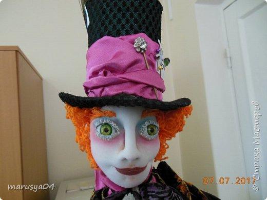 Ну вот - своя интерпретация Шляпника из Алисы в стране чудес. Не Джонни Деп конечно... но попыталась как могла... фото 6