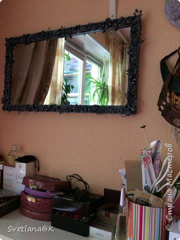 Всем доброго дня! Представляю Вам своё обновлённое зеркало. Купила недорогое зеркало, которое требовало доработки..... Небольшой фотоотчет... фото 11