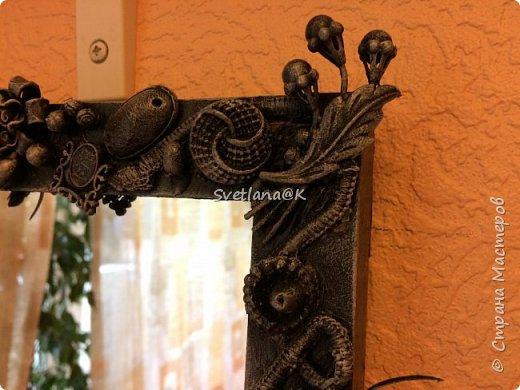 Всем доброго дня! Представляю Вам своё обновлённое зеркало. Купила недорогое зеркало, которое требовало доработки..... Небольшой фотоотчет... фото 1