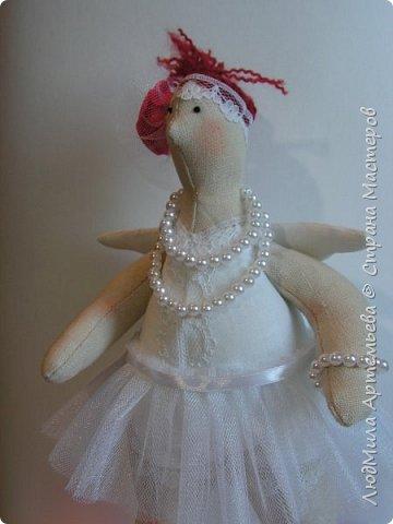Вот такая девочка недавно у меня уродилась) В процессе работы запланированная толстушка-купальщица заявила, что способна на большее, ... и получилась вот такая балерина XXL!  фото 3