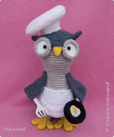 Вдохновили меня совы Тамары Новак и появились на свет новые игрушечки, но по собственному описанию) фото 1