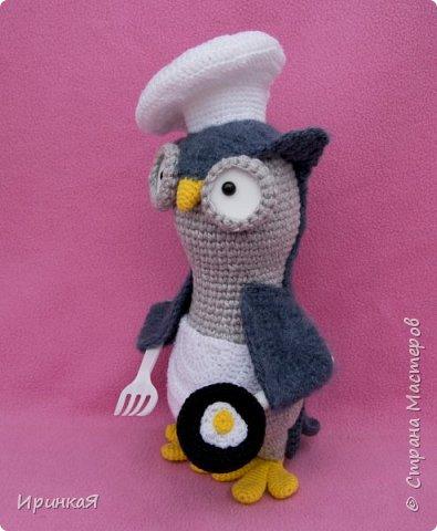 Вдохновили меня совы Тамары Новак и появились на свет новые игрушечки, но по собственному описанию) фото 2