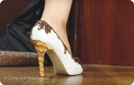 Сладкие туфли мороженое!
