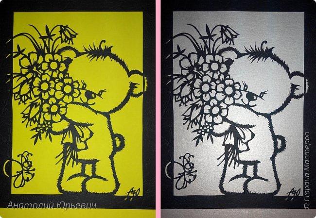 """- Всем добрый день! Вашему вниманию новая открытка которая порадует не только детей, но и взрослых. - Эскиз был выполнен, изменён и доработан под """"вырезалку"""" по работе детского художника-иллюстратора Марины Федотовой. - Размер 12х16см. фото 14"""