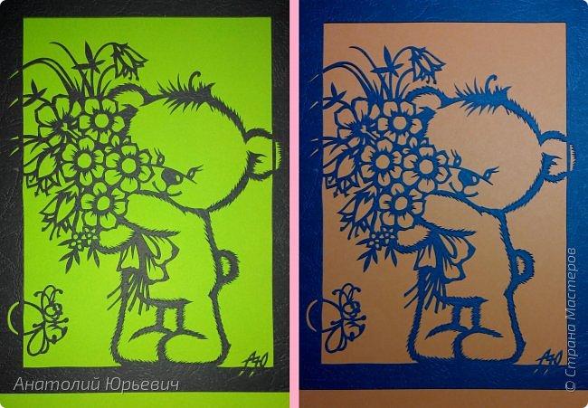 """- Всем добрый день! Вашему вниманию новая открытка которая порадует не только детей, но и взрослых. - Эскиз был выполнен, изменён и доработан под """"вырезалку"""" по работе детского художника-иллюстратора Марины Федотовой. - Размер 12х16см. фото 16"""