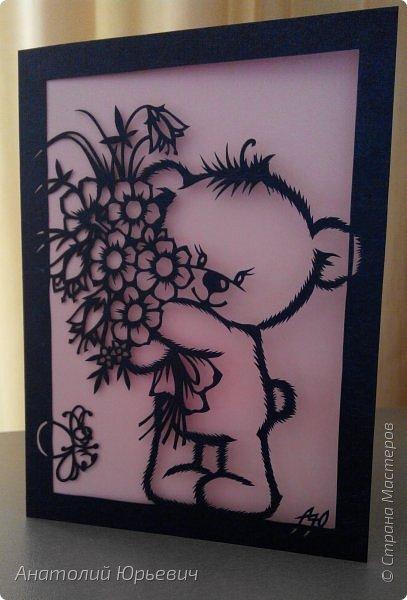 """- Всем добрый день! Вашему вниманию новая открытка которая порадует не только детей, но и взрослых. - Эскиз был выполнен, изменён и доработан под """"вырезалку"""" по работе детского художника-иллюстратора Марины Федотовой. - Размер 12х16см. фото 1"""