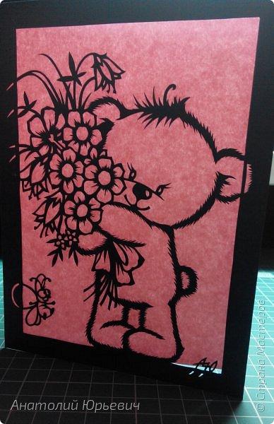 """- Всем добрый день! Вашему вниманию новая открытка которая порадует не только детей, но и взрослых. - Эскиз был выполнен, изменён и доработан под """"вырезалку"""" по работе детского художника-иллюстратора Марины Федотовой. - Размер 12х16см. фото 19"""