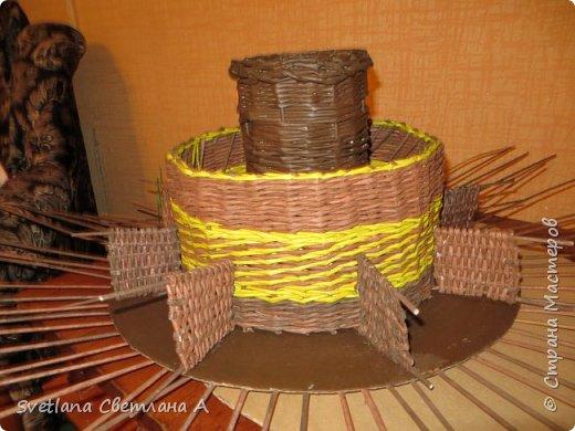 Следующая задумка –сделать что-то чтоб собрать все необходимое для плетения в одном месте. Приедут лапушки внучата и все то, что не на месте будет еще дальше. фото 7