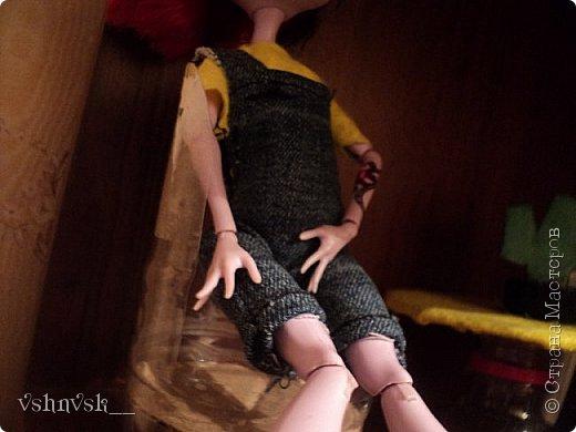 Мини-комната Есении. Она еще не закончена.  там еще кактусик и мольберт♥ фото 2