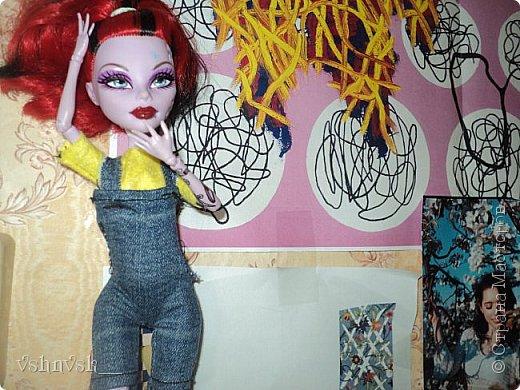 Мини-комната Есении. Она еще не закончена.  там еще кактусик и мольберт♥ фото 3