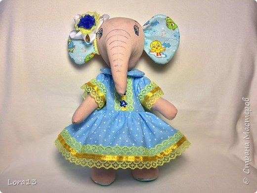 Знакомьтесь - слоняша Маша. Высота 26см фото 1