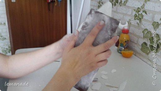 Здравствуйте мастра и мастерицы, хочу поделиться с вами созданием своего красочного ёжика, за вдохновение  спасибо Светлане и её МК http://stranamasterov.ru/node/229835. фото 7