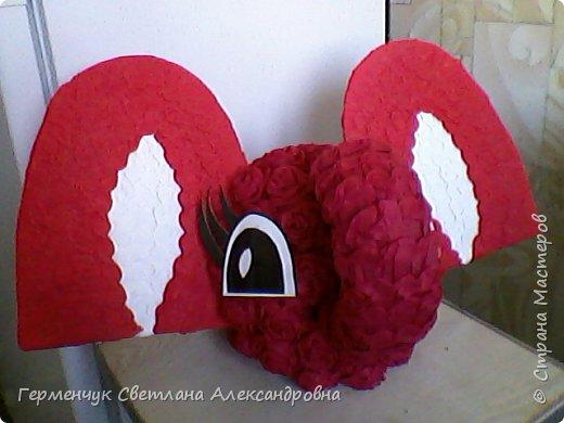 Слоненок Дамбо на день рождения ребенку ( можно и взрослому) Идею  увидела у польской мастерицы Евы Pantak, изменив  ее под себя. фото 14