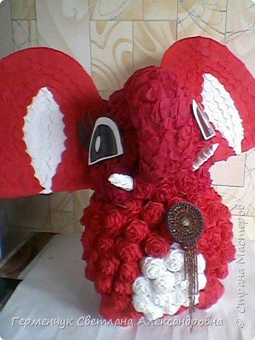 Слоненок Дамбо на день рождения ребенку ( можно и взрослому) Идею  увидела у польской мастерицы Евы Pantak, изменив  ее под себя. фото 19