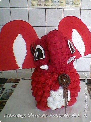 Слоненок Дамбо на день рождения ребенку ( можно и взрослому) Идею  увидела у польской мастерицы Евы Pantak, изменив  ее под себя. фото 22
