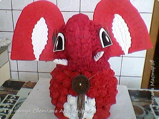 Слоненок Дамбо на день рождения ребенку ( можно и взрослому) Идею  увидела у польской мастерицы Евы Pantak, изменив  ее под себя. фото 27