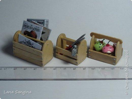 миниатюры для кукольного домика фото 14