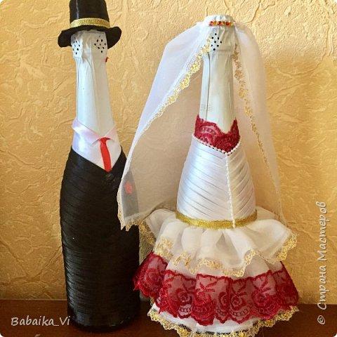 "Бутылки на свадьбу ""Жених и Невеста"""