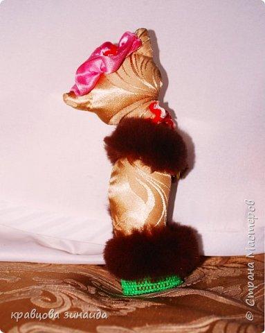 Добрый день моя любимая СТРАНА МАСТЕРОВ , сегодня я к вам со своими любимыми кисками , шьются не сложно , а смотрятся красиво , как статуэточки . 1. Первая в розовой шляпке фото 3