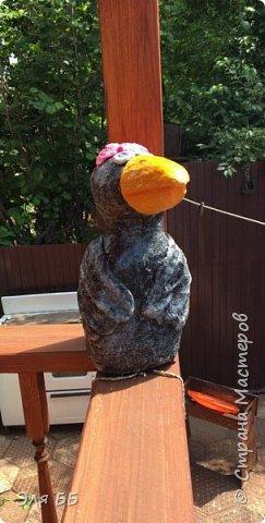 Благодаря МК Оль.гуньчик  http://stranamasterov.ru/node/1083176?c=favorite у меня теперь есть ворона. У Ольги весь процесс подробно описан не буду повторяться.   фото 20