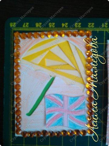 Привет,девочки!!! Мне уже сняли гипс, я быстренько сделала серия карточек. Почему зонты? Потому-что Англия туманная и сырая страна. поэтому что бы вы не промокли,я дарю вам зонтики!!!! фото 2