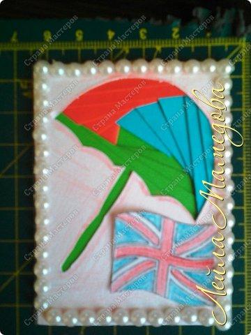 Привет,девочки!!! Мне уже сняли гипс, я быстренько сделала серия карточек. Почему зонты? Потому-что Англия туманная и сырая страна. поэтому что бы вы не промокли,я дарю вам зонтики!!!! фото 5